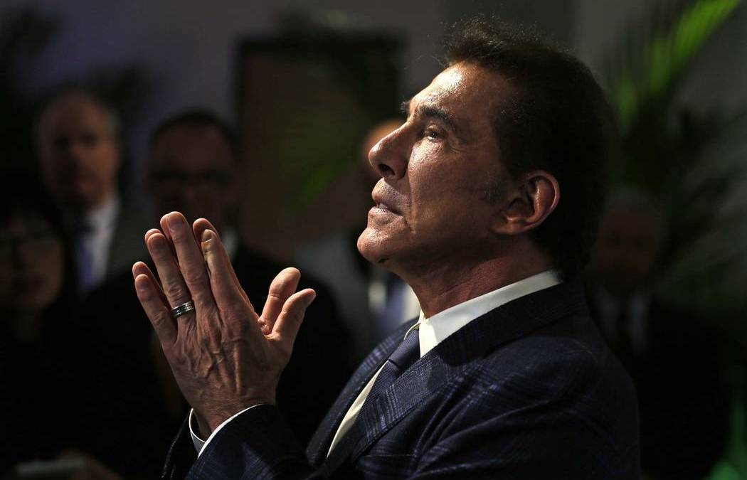 No Severance Pay for Steve Wynn, Must Leave Property by June 1