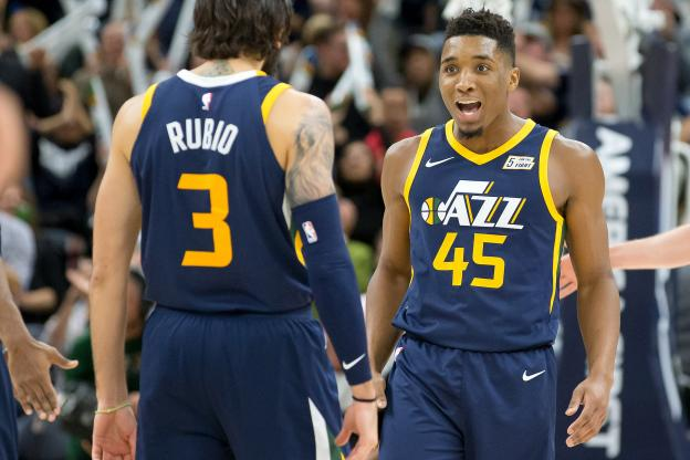 Nba Roundup: Jazz Edge Spurs for 10th Win in Row