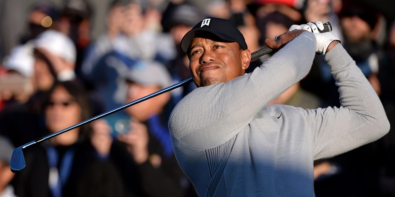 Tiger Cards 1-over 72 in Riviera Return