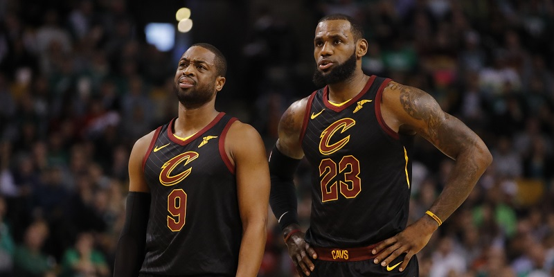 Cavs Send D-wade Back to Miami; Lebron Says Goodbye