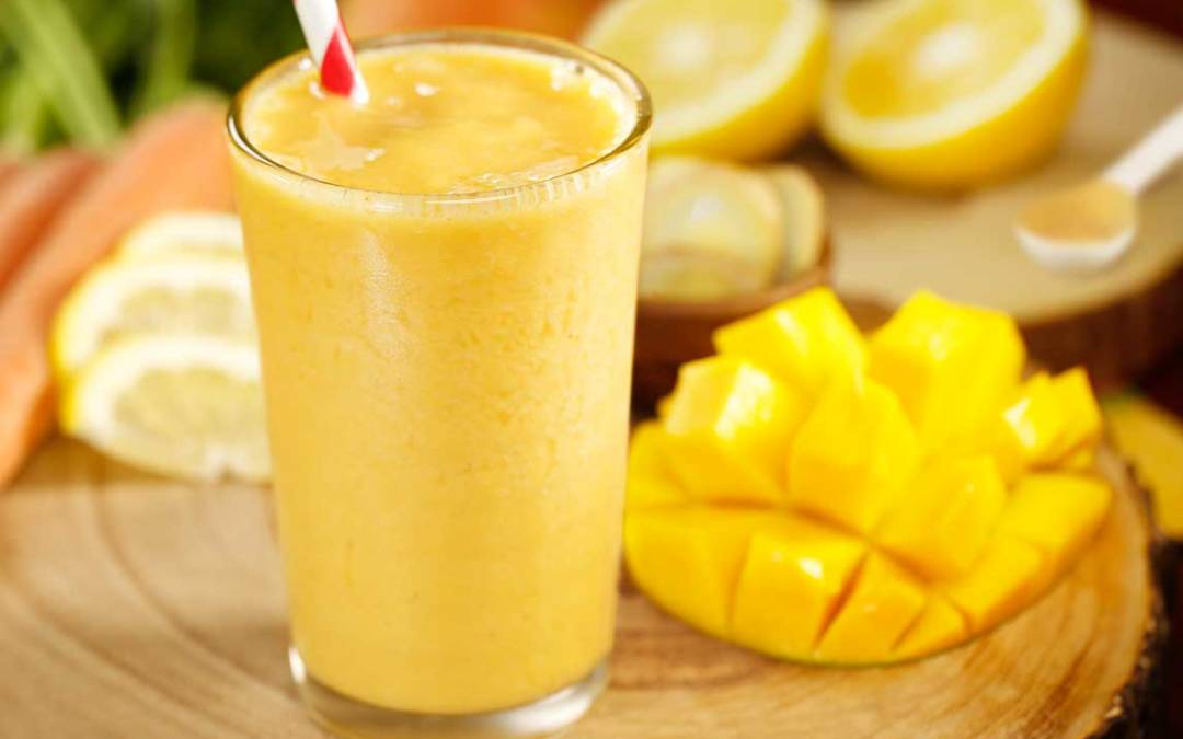 Supercharged Immunity Smoothie (Recipe Included)