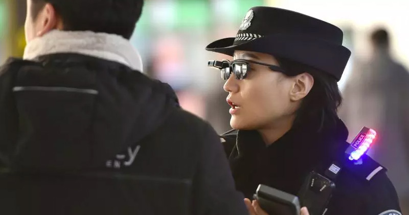 Chinese Police Begin Using Facial Recognition Sunglasses to Find Suspects