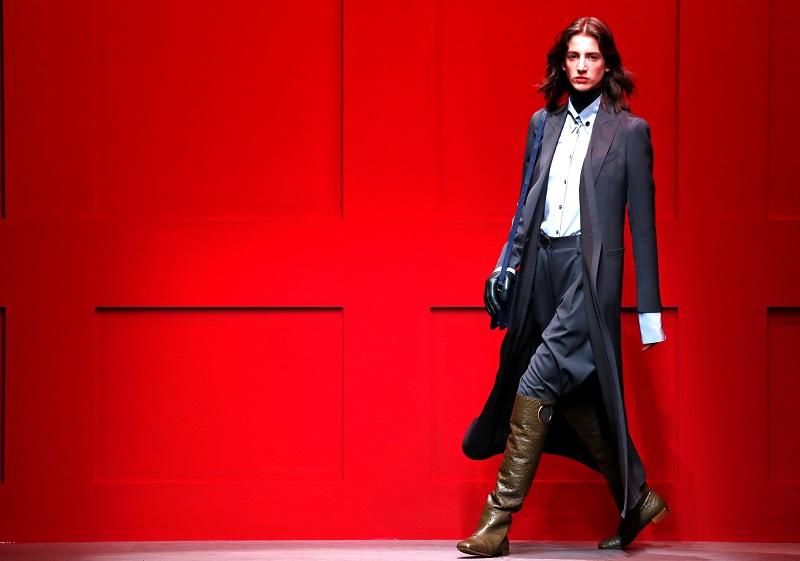 Paul Andrew makes elegant Ferragamo debut in Milan