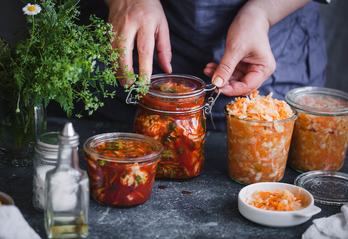 Heal and Nourish Your Gut with Fermented Foods: a Beginner's Guide to Making Your Own