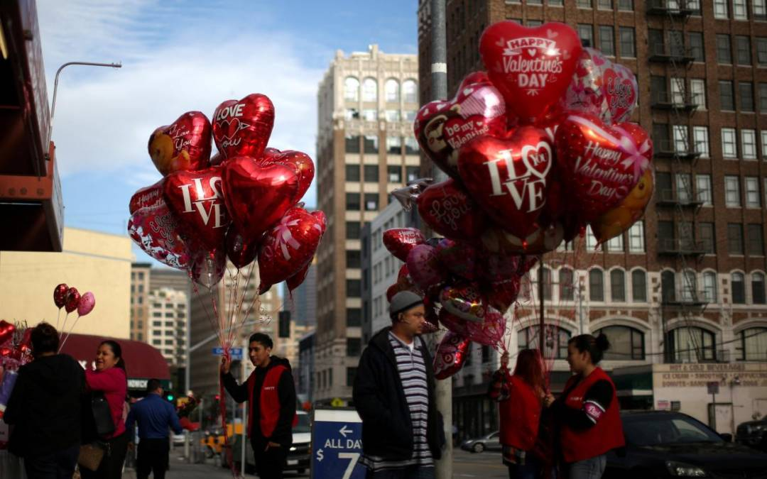 Fasting or Champagne? Valentine's Day, Ash Wednesday in Rare Confluence