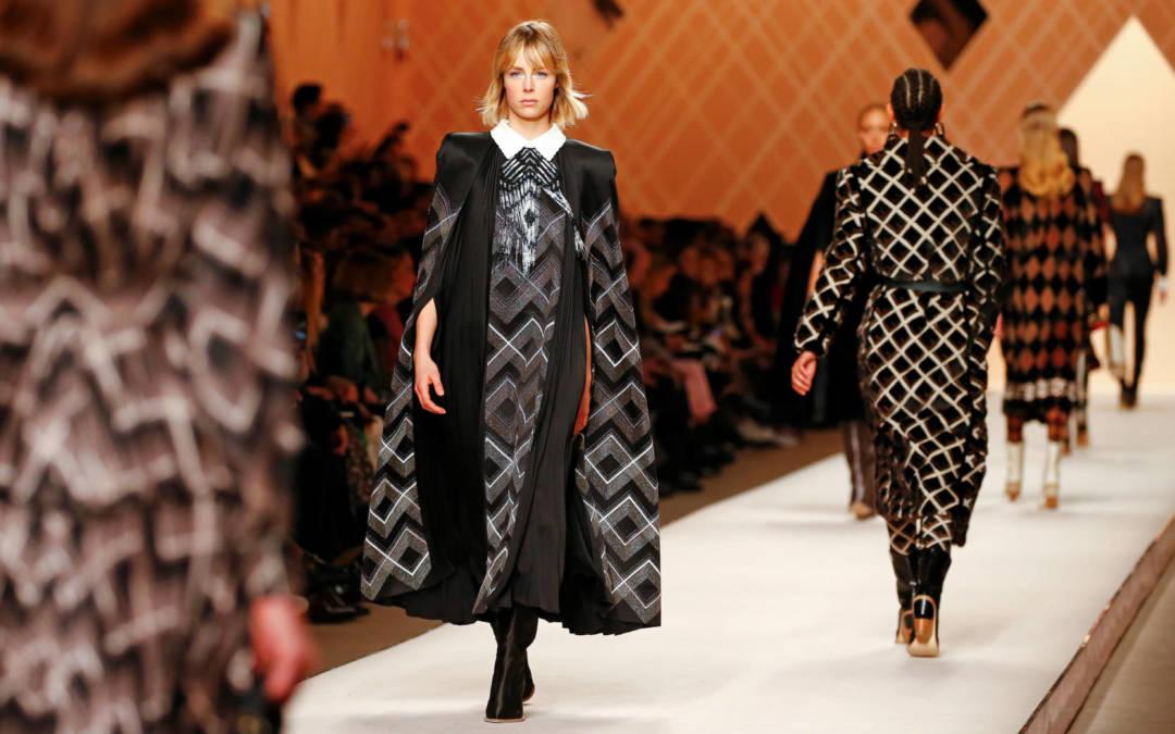 Soft romance fills Fendi's Milan catwalk show