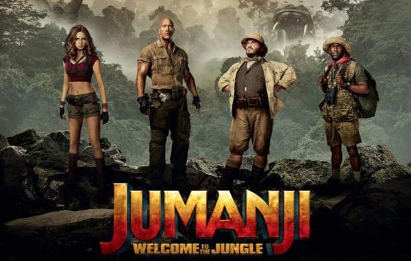 "Paula A. Lewis Library presents ""Jumanji: Welcome to the Jungle"" on Saturday, April 28"