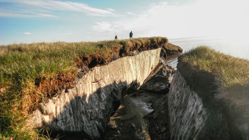 Alaska's permafrost holds the world's largest deposit of mercury; concern growing over potential dangers such as contamination of food supply, water