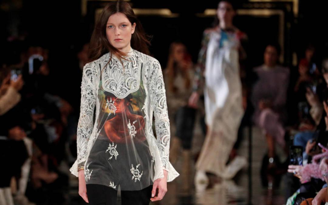 Stella McCartney unveils deconstructed suits