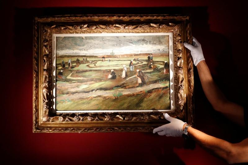 Van Gogh landscape expected to fetch millions at auction