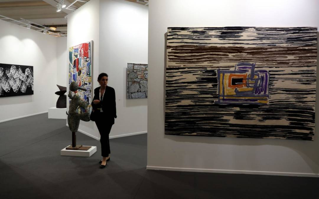 Oasis of calm in shattered region, Dubai steps out as art hub