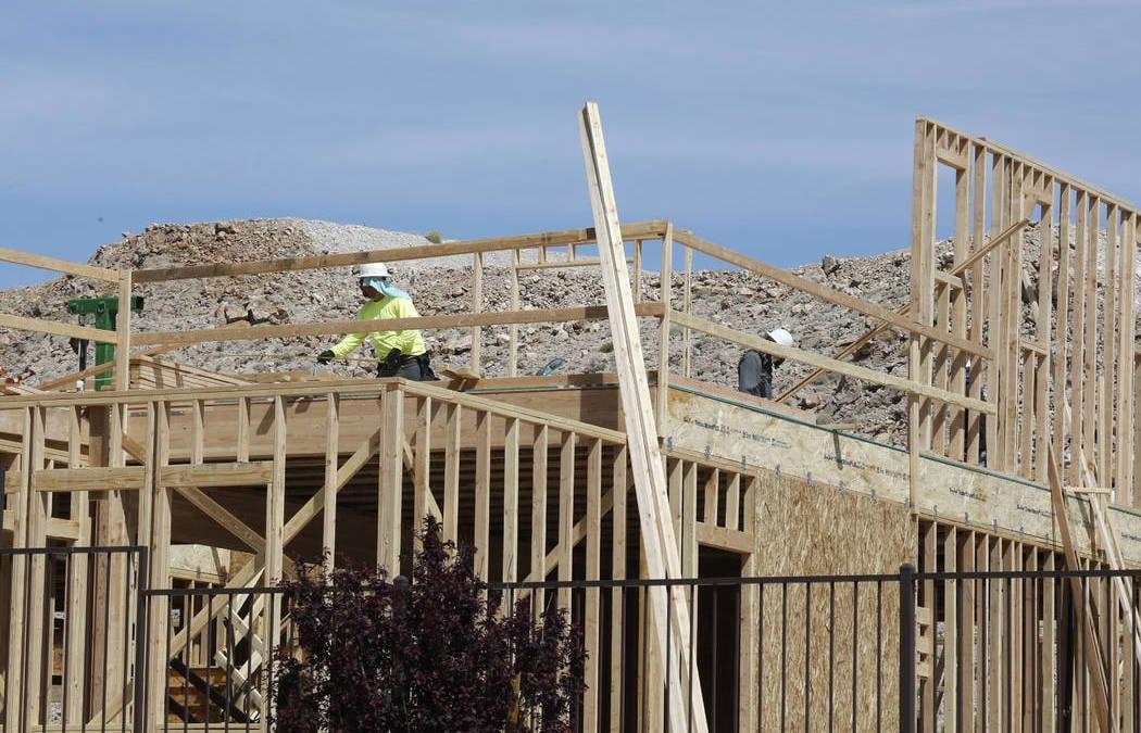 Las Vegas homebuilders thriving amid 'buying frenzy'