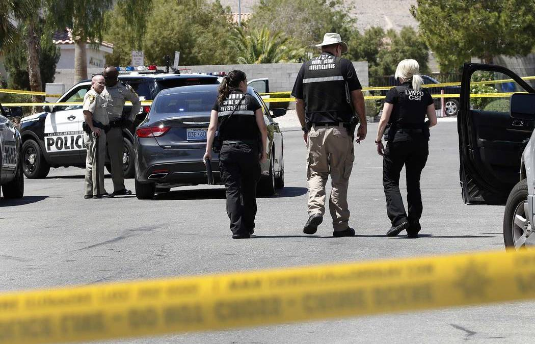 Man faces murder charge in southwest Las Vegas shooting