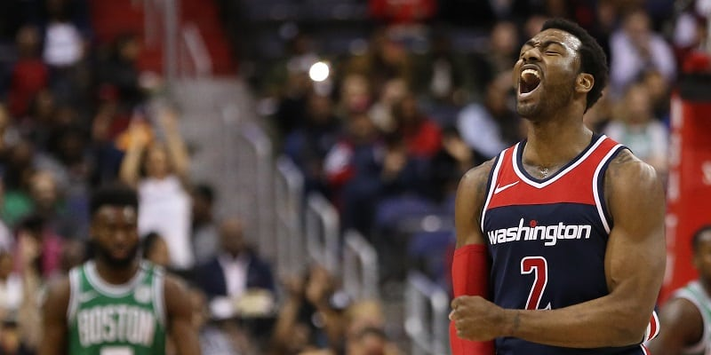 Wall, Beal say refs missed calls in Game 1