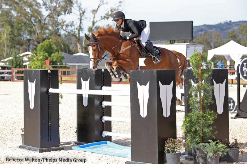 Michelle Parker and Cupilor Gallop Home with $40,000 Snapbac National Grand Prix Victory