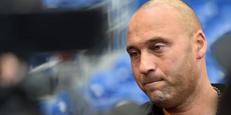 Jeter gets defensive over tanking questions