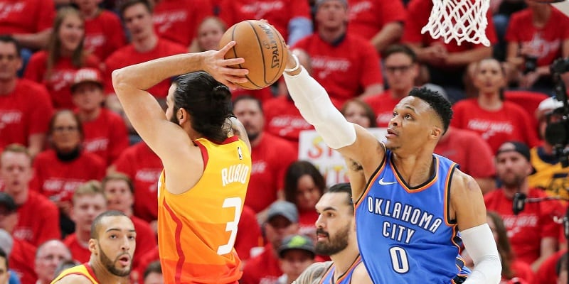 Westbrook vows to shut down Rubio after triple-double