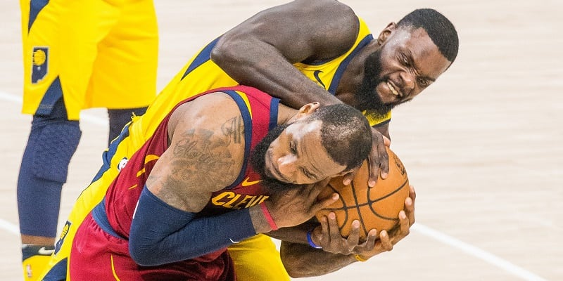 James, Cavs even series with Pacers