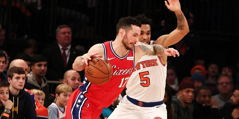 Redick, Sixers close out Heat