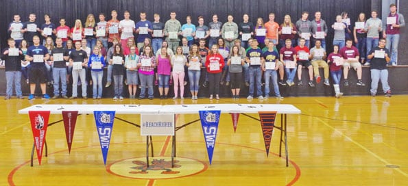 Public is invited to annual College Signing Day at C H S