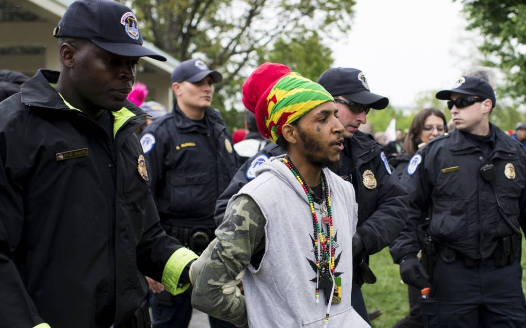 THE WAR ON POT MARCHES ON: IN NEARLY HALF THE COUNTRY, MARIJUANA ARRESTS HAVE GONE UP SINCE 2014
