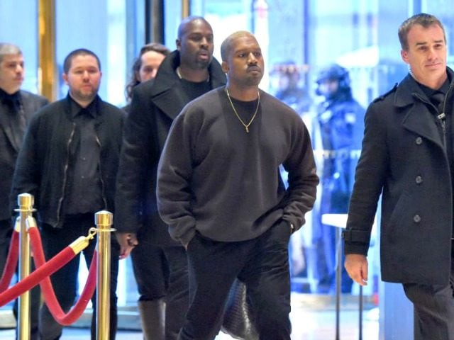 Donald Trump Praises Kanye West for 'Sticking to His Guns'