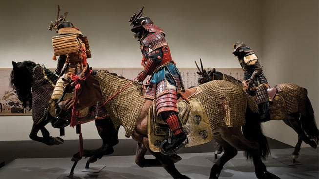 Samurai: Armor from the Anne and Gabriel Barbier-Mueller Collection at Bellagio Gallery of Fine Art to close May 1