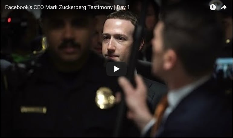 Facebook's CEO Mark Zuckerberg Testimony | Day 1