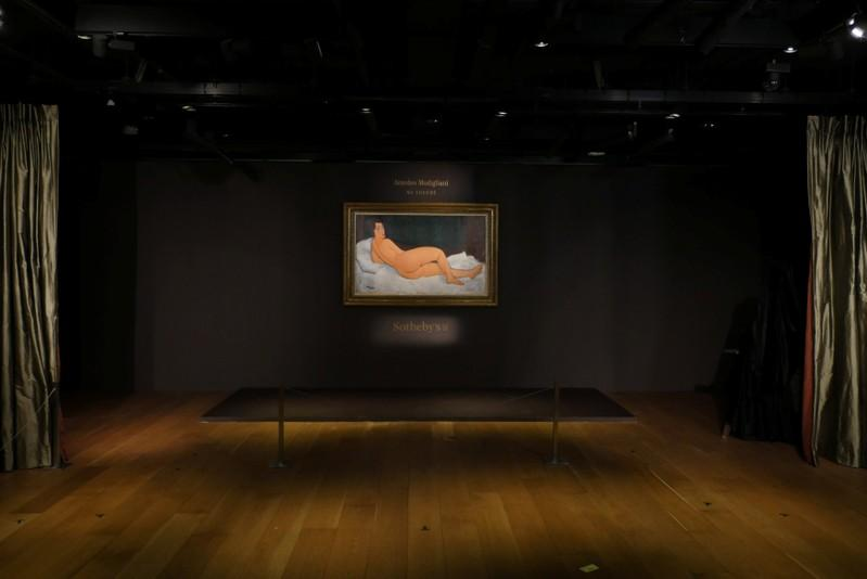 Modigliani's largest nude to go under hammer, seen at $150 million