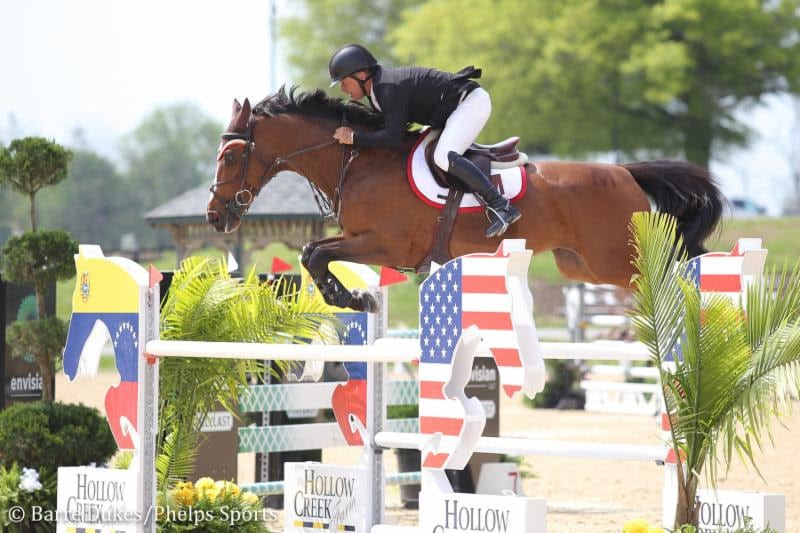 Todd Minikus and Quality Girl Return in Winning Form at Kentucky Spring Horse Show in $35,000 Welcome Speed 1.45m CSI3*