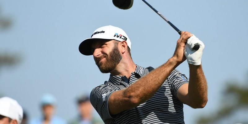 Johnson fires 66 at The Players with No. 1 on line