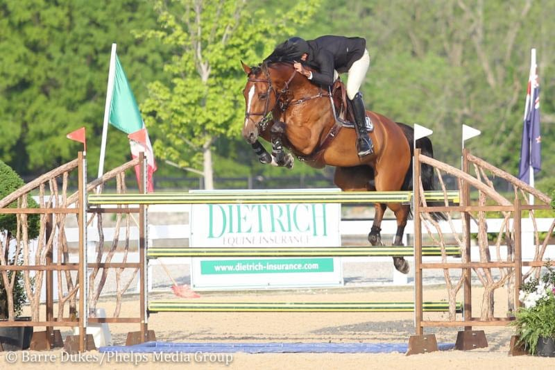 Javier Fernandez Stays on Top to Claim $5,000 Open Jumpers with Diamond Dream