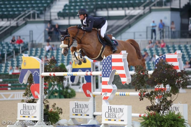 Darragh Kenny Does It Again With Babalou 41 to Claim $131,000 Hollow Creek Farm Grand Prix CSI3* at the Kentucky Spring Horse Show