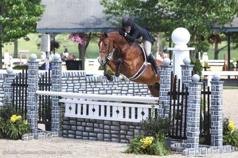 Kelley Farmer and Jeff Gogul Claim Top Prizes in USHJA Hunter Derbies at Kentucky Horse Park
