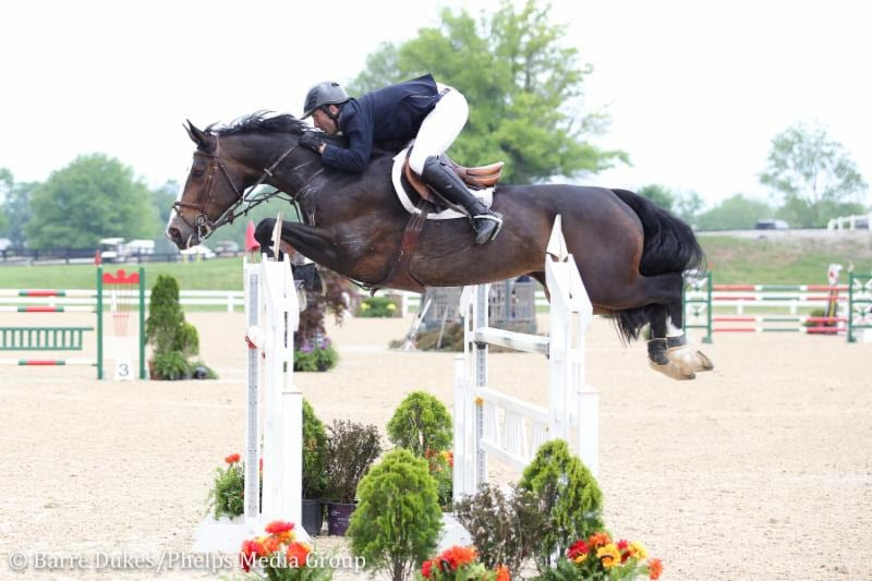 Andy Kocher and Kahlua Kick Off Kentucky Spring Classic With $35,000 Welcome Speed CSI3* Win