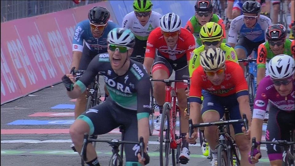 Ireland's Bennett wins Giro stage 12 with gutsy sprint