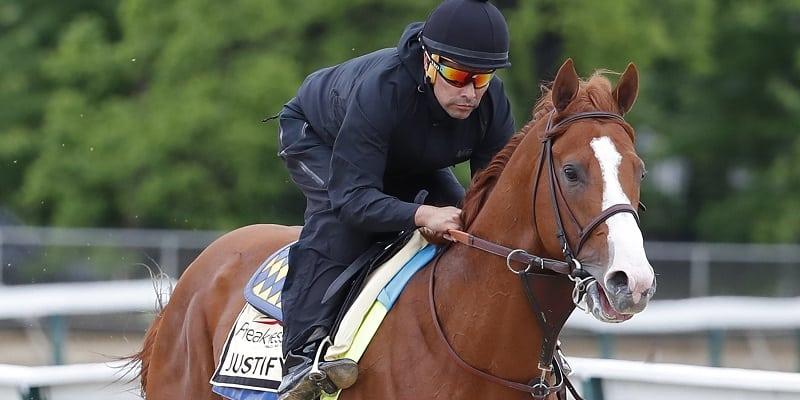 Derby winner Justify in form as he looks to add Preakness