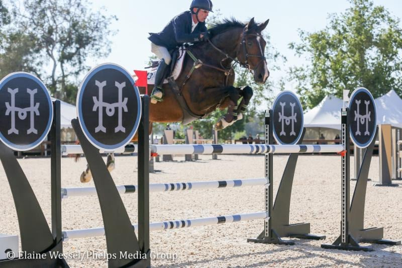Temecula Valley National Horse Show II Opens with One-Two Welcome Stake Win for John Pearce