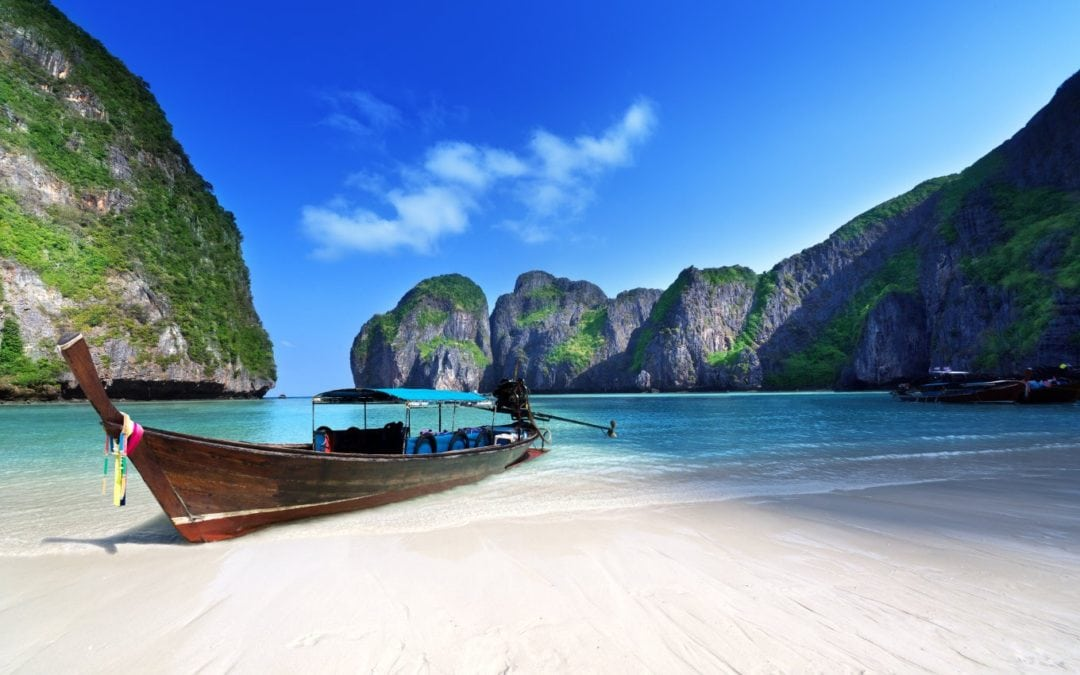 Thai bay made famous by film 'The Beach' to close for four months