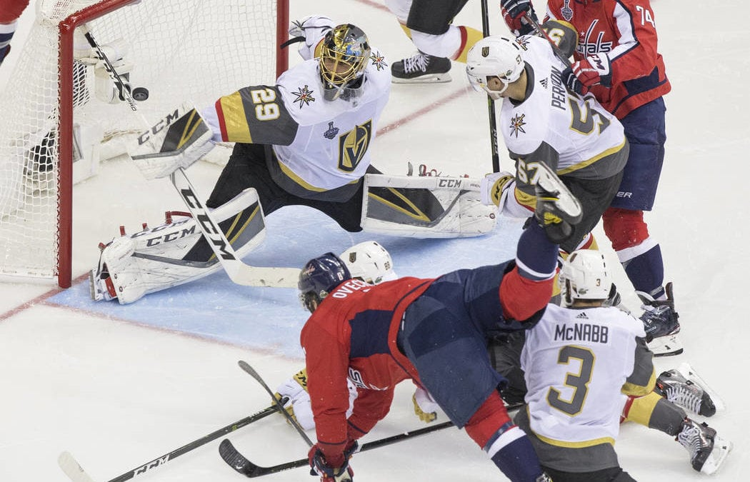 Golden Knights fall 3-1 as Capitals take series lead
