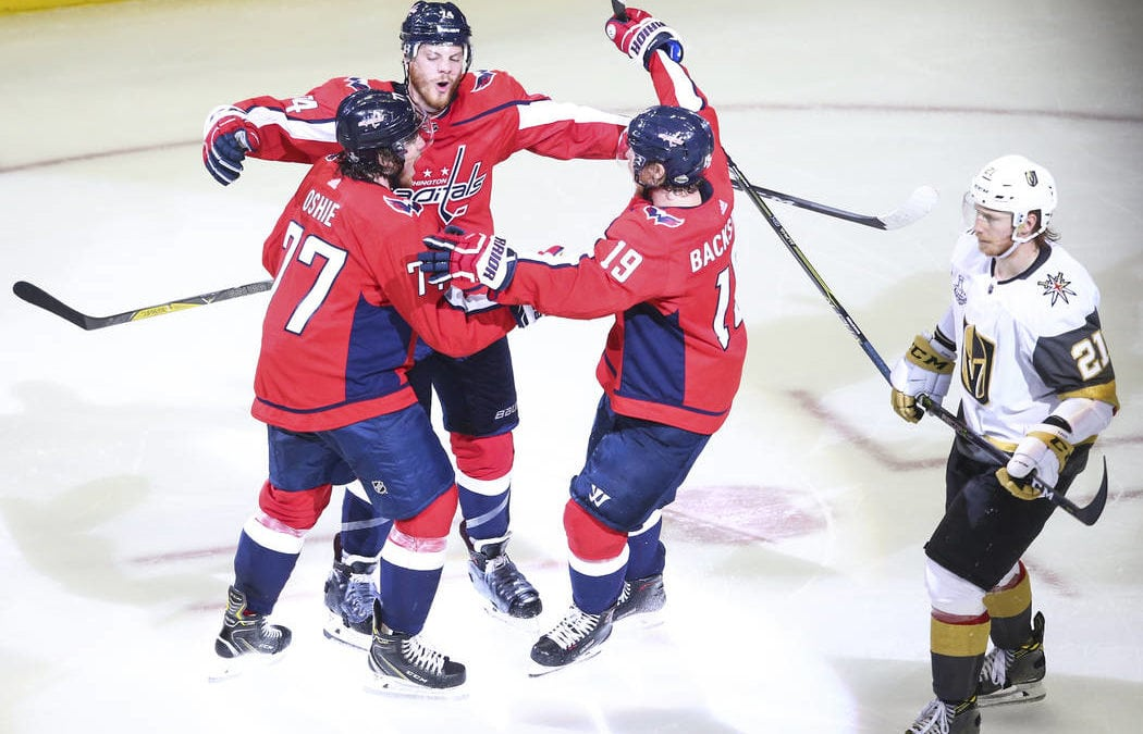 Golden Knights lose 6-2; Capitals 1 win from Stanley Cup