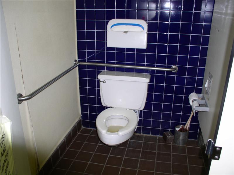 Handicapped restrooms