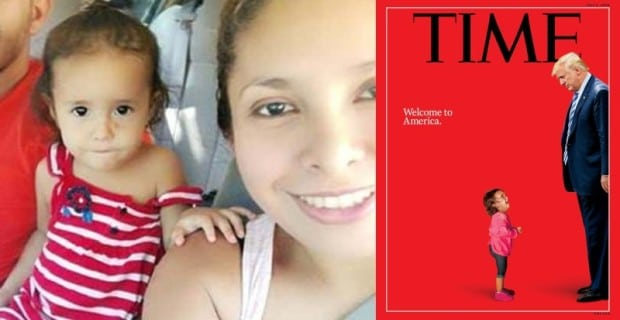 Fake News: Crying Child Used by Time Magazine & CNN Was Never Separated From Her Mother