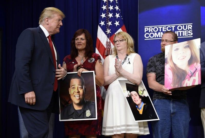 Trump pushes back against border separation uproar