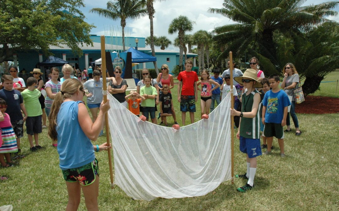 SMITHSONIAN CELEBRATES WORLD OCEAN DAY AT THE ST. LUCIE COUNTY AQUARIUM