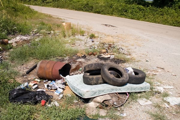 City of Clearlake Asking Public to Report Illegal Dumping