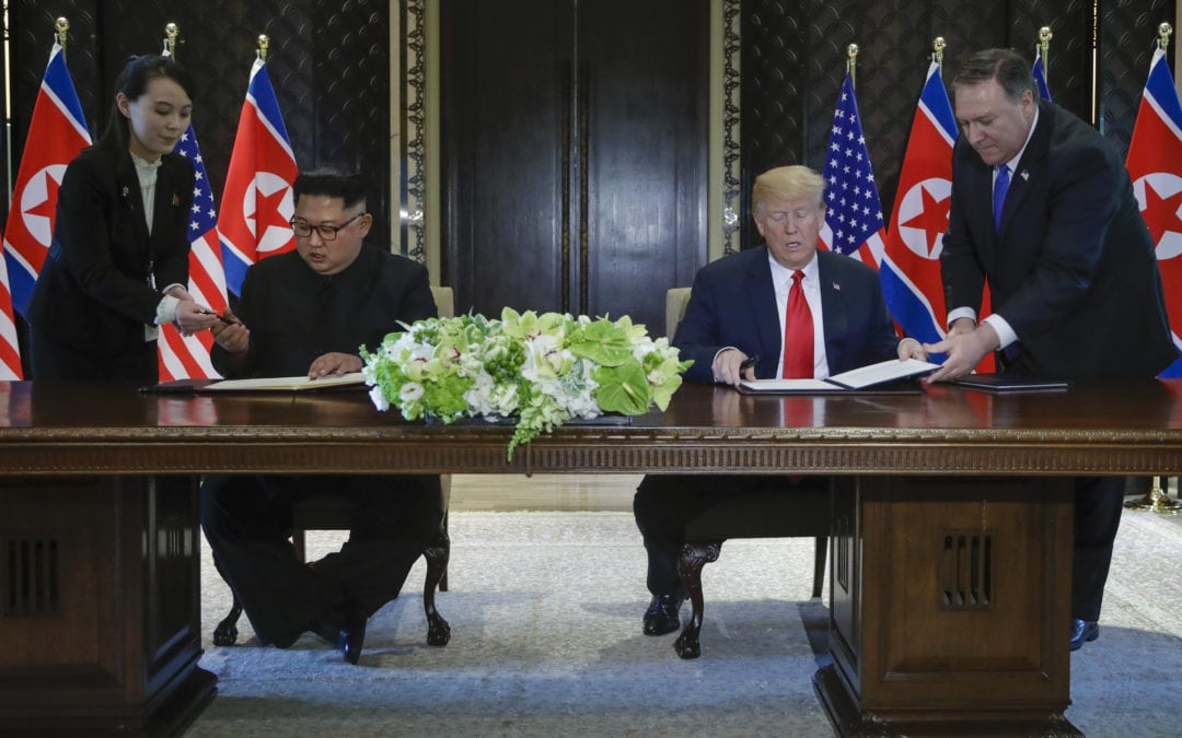 DERANGED MEDIA OFFERS NOTHING BUT NEGATIVE COVERAGE OF TRUMP-KIM SUMMIT