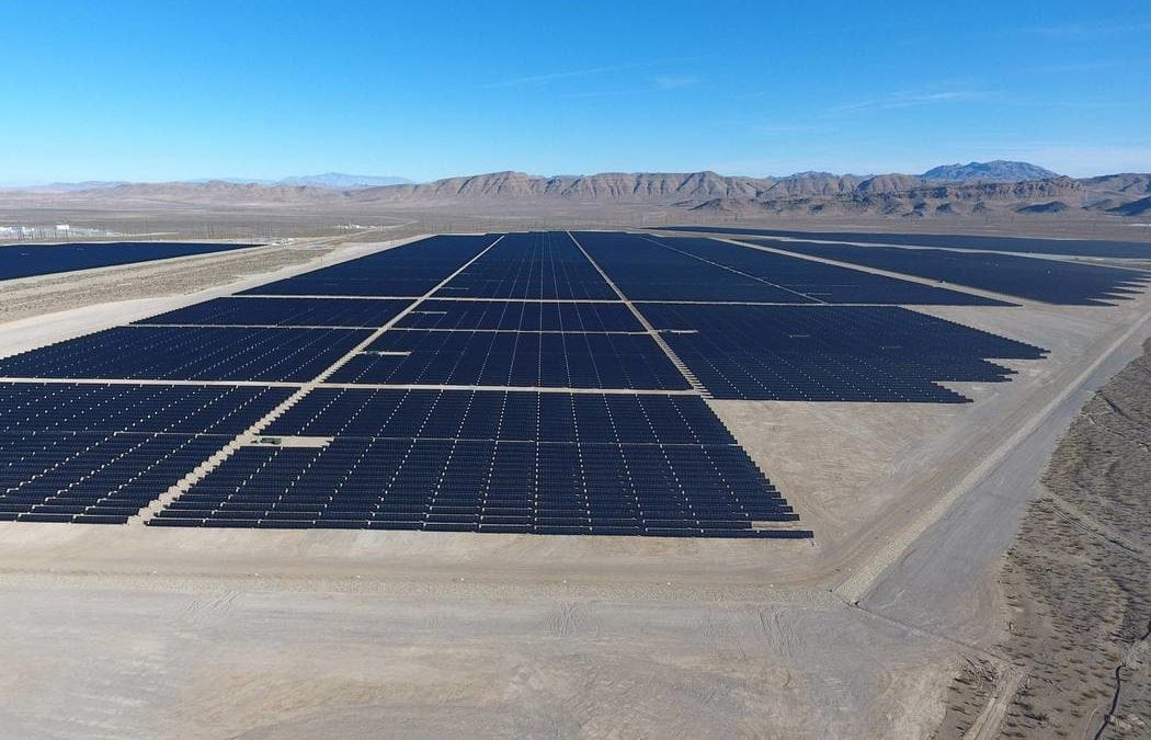 Proposed solar arrays in Clark County include battery storage