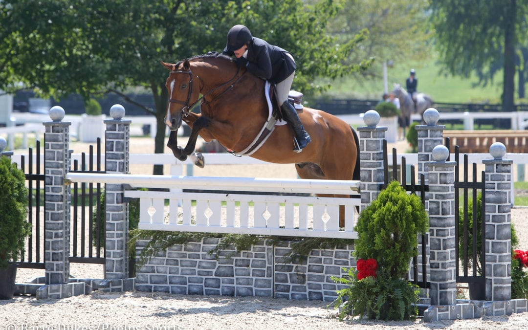 Kelley Farmer and Because Best Competition to Capture Professional Hunter Grand Championship at Kentucky Summer Horse Show