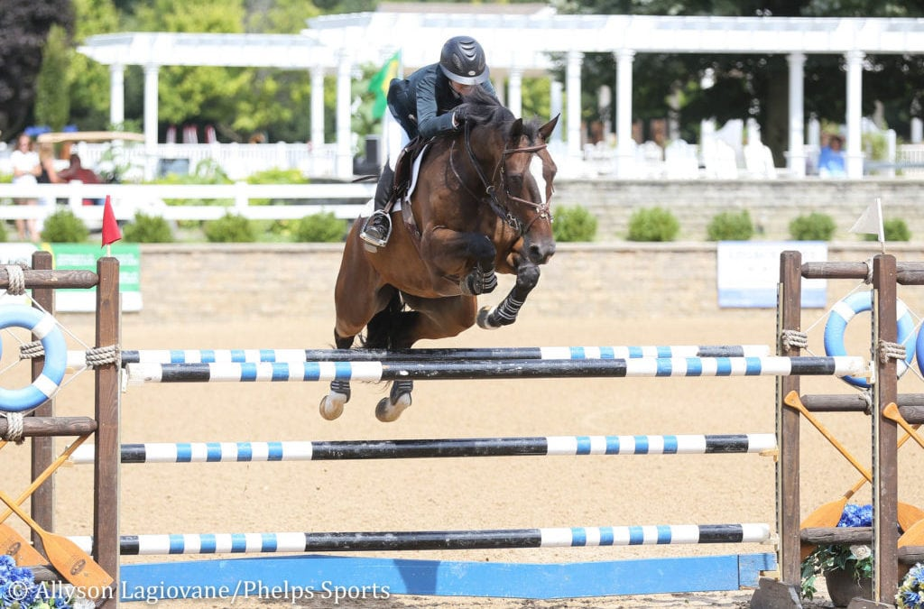Kelsey Thatcher and Everything Race to $7,500 Show Jumping Hall of Fame Junior/Amateur 1.40m Jumper Classic Victory in Equifest I
